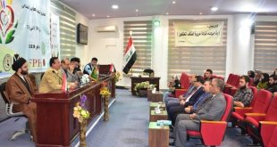 Faculty of Arts at the University of Kufa holds a symposium on peaceful coexistence