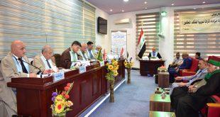 اطروحة دكتوراه في كلية الآداب تناقش اثر التعدد الديني في المنجز الحضاري في تاريخ العراق