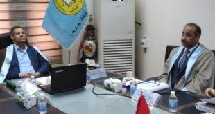 رسالة ماجستير في كلية الآداب بجامعة الكوفة بإشراف وزير الثقافة  بعنوان منح الهبات وتنميط قصائد القرن التاسع عشر في العراق