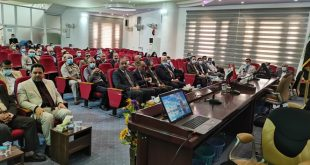 كلية الآداب بجامعة الكوفة تحتفل بإنجاز موسوعة المفصل في تاريخ النجف للأستاذ الدكتور حسن الحكيم