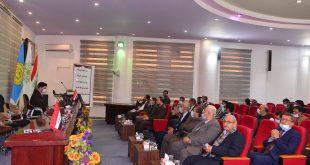 كلية الآداب بجامعة الكوفة تنظم احتفالها السنوي بمناسبة يوم اللغة العربية