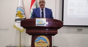 A professor from the Faculty of Arts at the University of Kufa participates in an international scientific symposium on the relationship between tribe and the state